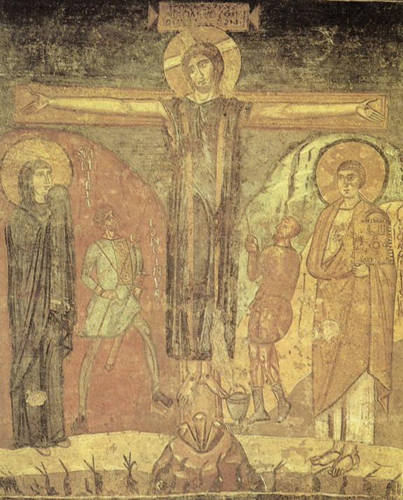 santa_maria_antiqua_roma_crocefissione_effresco_741-752